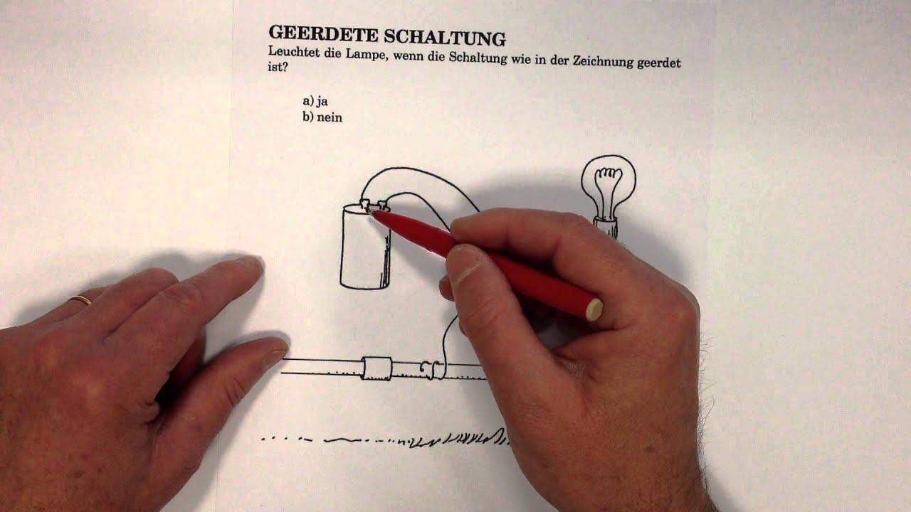 Erdung, Wird der Stromkreis beeinflusst? - YouTube