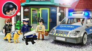 Sparkles wird POLIZEI HUND! Playmobil Polizei Film - KARLCHEN KNACK #200