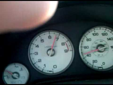2005 Rsx Type-s Stock Acceleration 0-100