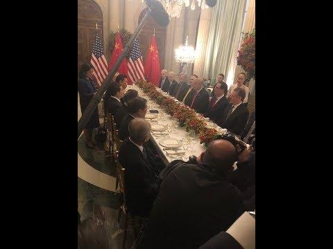 《石涛聚焦》GAME OVER -「川习峰会」刚刚结束历时2.5小时比预计长 各自夫人没有参加 川普已离开酒店去机场返回华盛顿DC 白宫没有任何声明