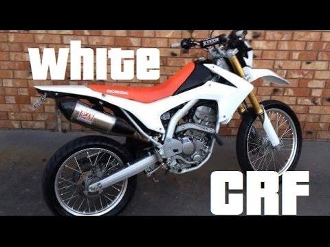 Honda CRF250L With White Plastics - Black Seat Coming Soon ...