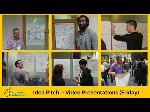 'IoT' Idea Pitches (Dublin Hardware Hackathon 2014) #HackDublin