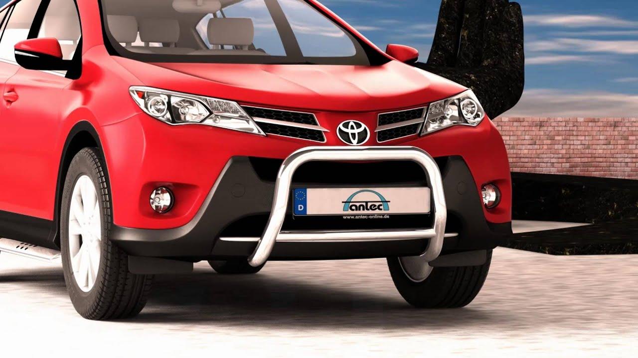 10z4413 Antec Online De Toyota Rav4 Eu Log Front Protection Bar