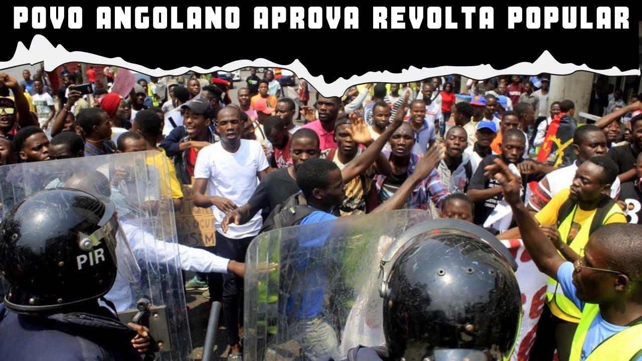 Povo angolano aprova revolta popular para o mpla desaparecer do mapa angolano Cortes