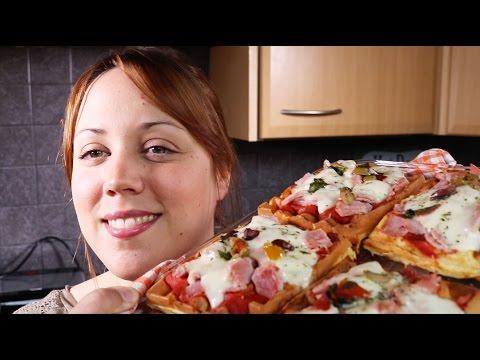 gaufres-pizza-jambon-mozzarella