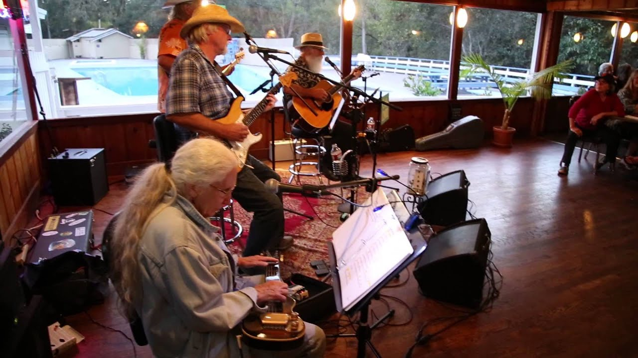 Cruz Control Trio at The Trout Farm, Felton Ca  10-26-14 ~ Tequila Sunrise