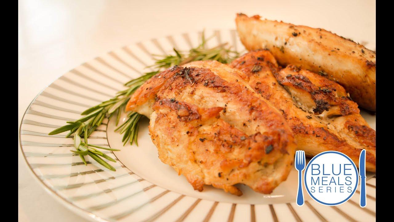 Tasty Seared Chicken Diabetes Friendly Recipe Blue Meals Youtube