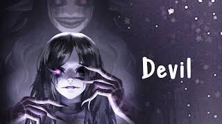 Nightcore - Devil On My Shoulder - (Faith Marie) - Lyrics