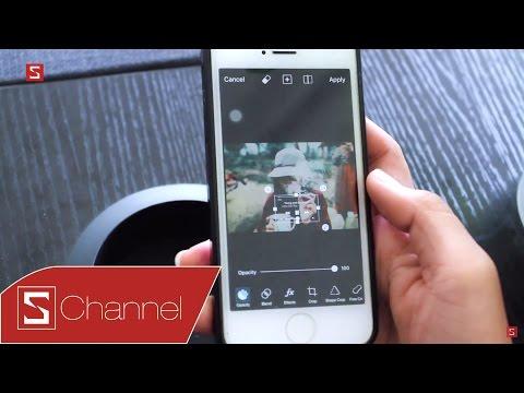 Schannel - Cùng Kiều Diễm tạo ẢNH SỐNG ẢO SIÊU DEEP với ứng dụng PicsArt!!!