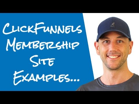 Clickfunnels Membership Site Examples - My Clickfunnels Membership Site.