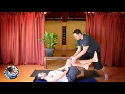 Gregory Jamiel - Forrest Yoga Twisted Root Abdominals Demo