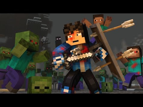 "Thumbnail: ""The Struggle"" - A Minecraft Original Music Video ♫"