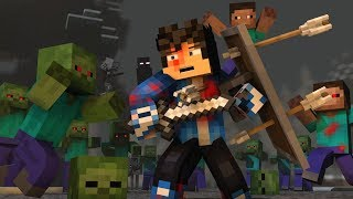 "Video ""The Struggle"" - A Minecraft Original Music Video ♫ download MP3, 3GP, MP4, WEBM, AVI, FLV Juni 2018"