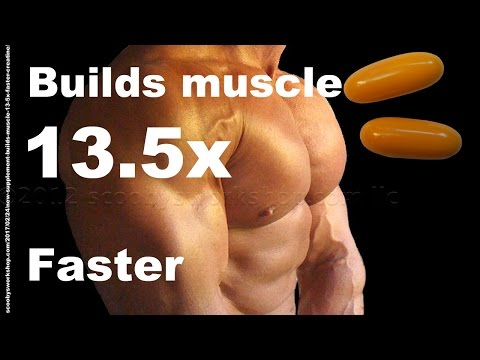Supplement builds muscle 13.5x faster than creatine