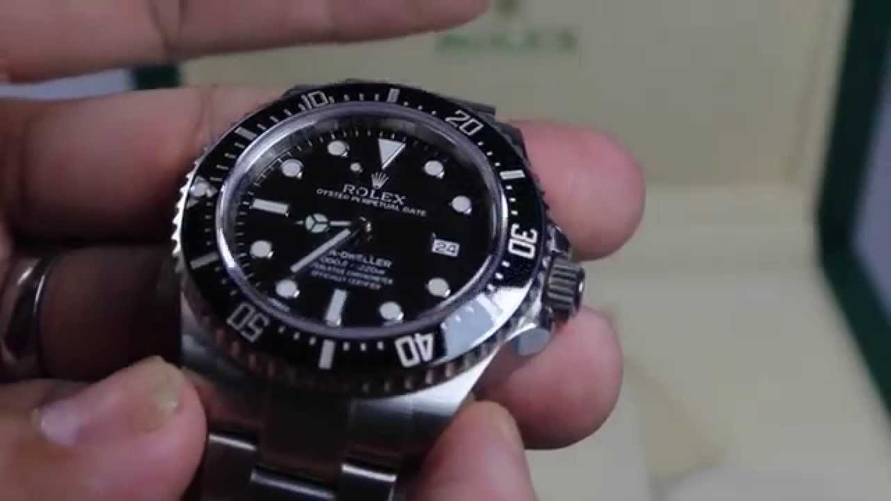 rolex 116600 seadweller 4000 sd4k review youtube