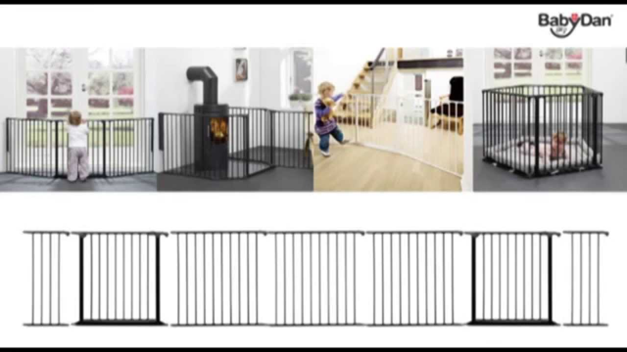 BabyDan Configure Gate 90 180cm Demonstration BabySecurity YouTube