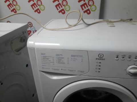 Как почистить фильтр на стиральной машинки INDESIT WISL 82