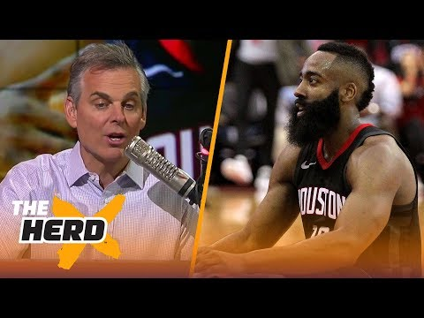 Colin Cowherd wasn't blown away by James Harden's tripledouble against Orlando  THE HERD