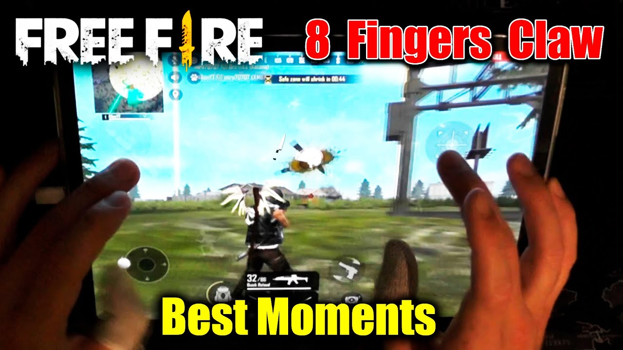 Garena Free Fire | 8 Fingers Claw | Best Moments Of Alien