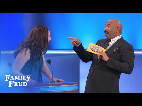 Kathryn's ANSWER is SO GOOD... | Family Feud