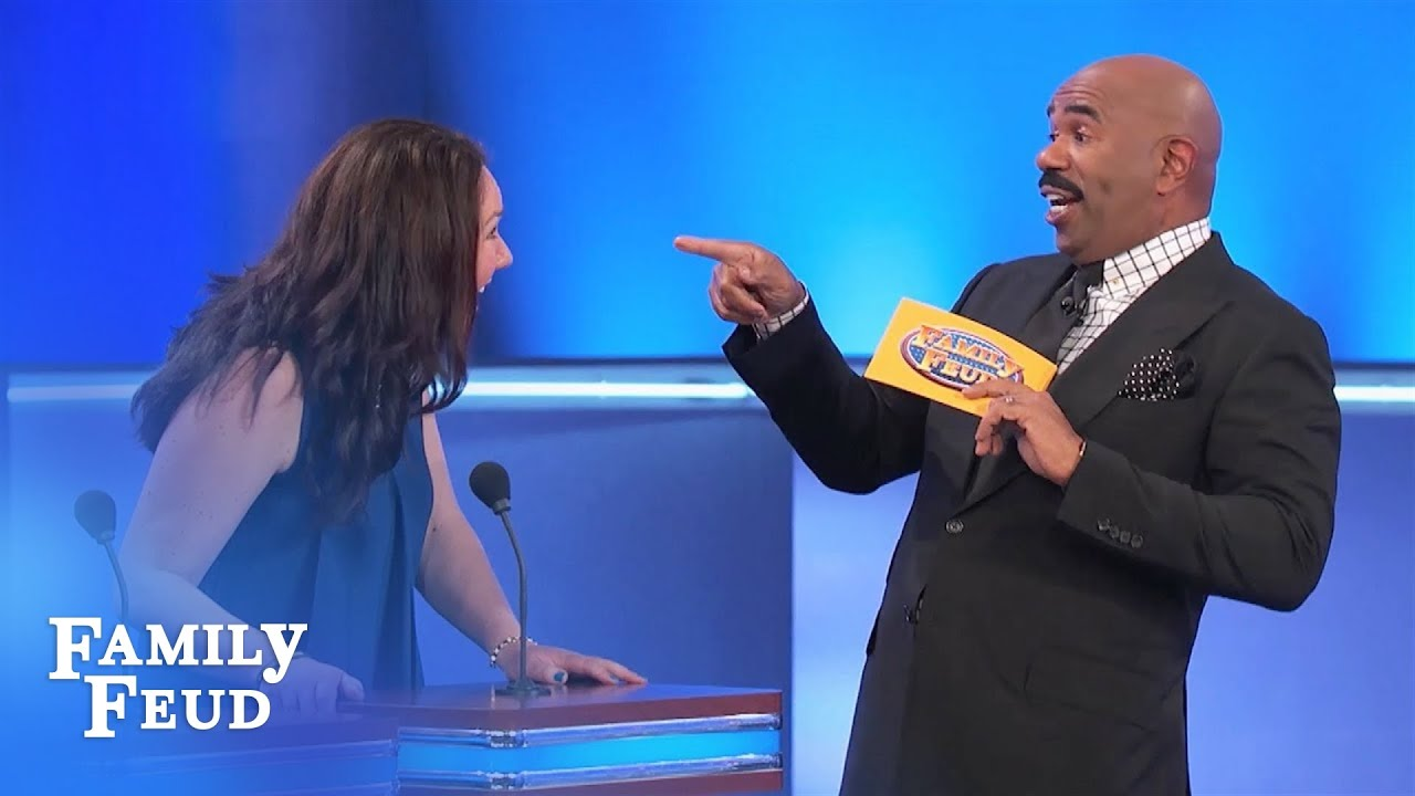 Kathryn's ANSWER is SO GOOD    | Family Feud