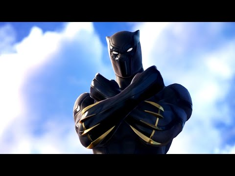 Fortnite Black Panther Introduction Trailer ft Marvel Characters