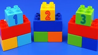 LEGO 123 Learn Count with Surprise egg Kinder toys