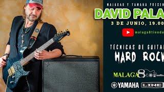 Técnicas de hard rock con David Palau