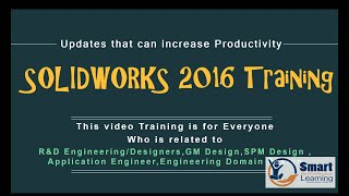 Solidworks 2016 Video Training Tutorial