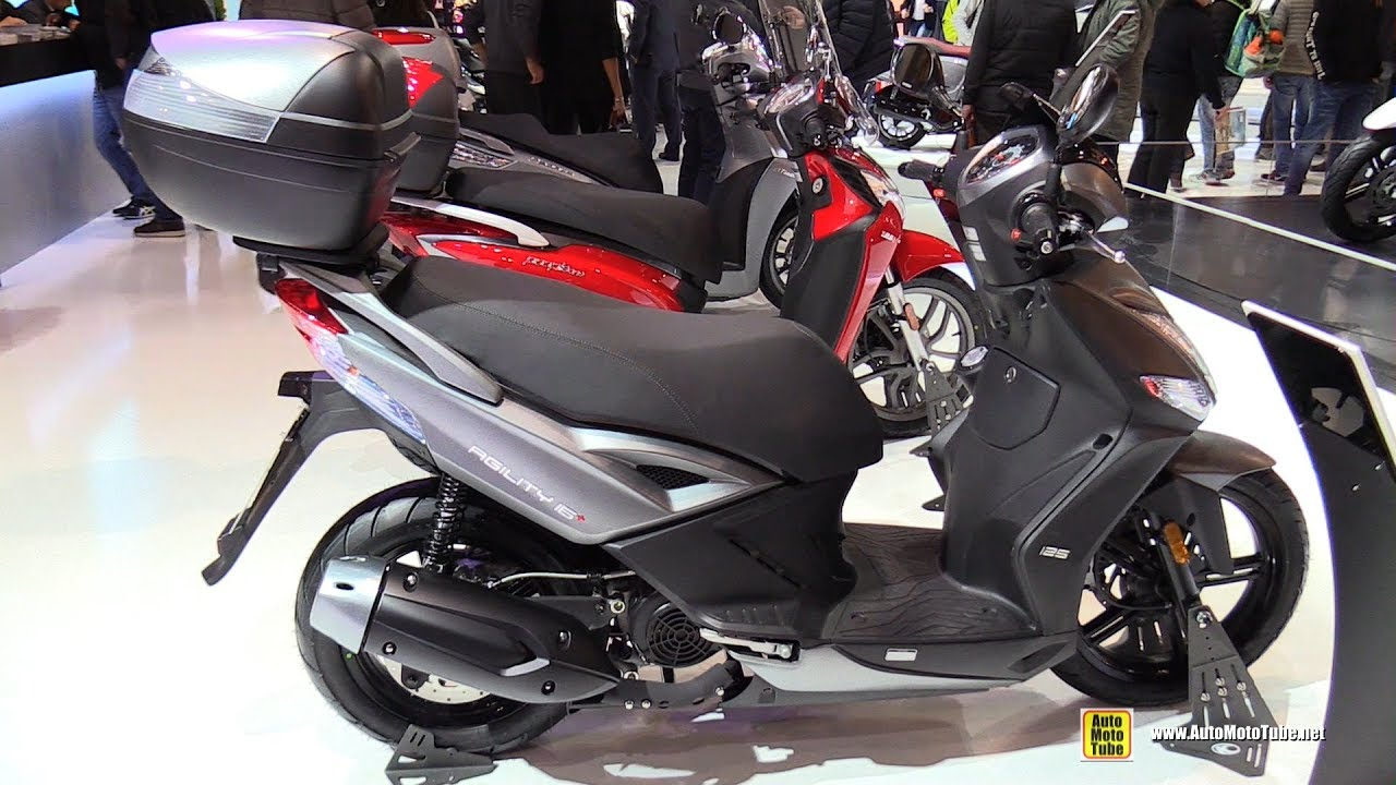 2017 kymco agility 16 125 scooter walkaround 2016. Black Bedroom Furniture Sets. Home Design Ideas