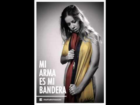 Mi bandera es mi arma fotos en apoyo a venezuela S.O.S