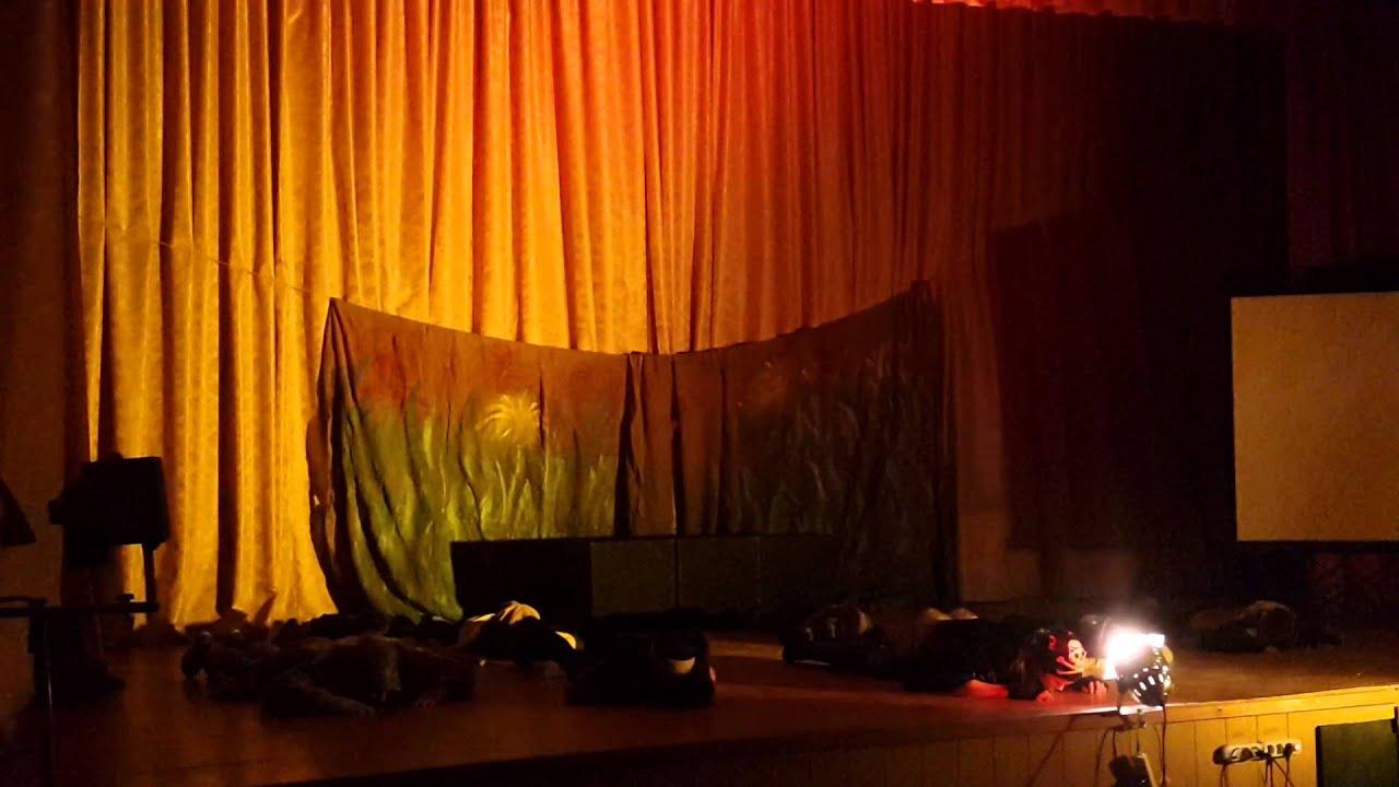 """Спектакль """"Собаки"""".На сцене студийцы Театрального Центра """"Селебритис"""" филилиал г.Воскресенск"""