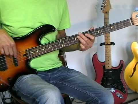 Herman's Hermits - There's A Kind Of Hush - Bass Cover