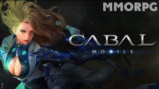 иНТРИГА! Cabal Mobile ПЕРВЫЙ ВЗГЛЯД ММОРПГ на Android - iOS