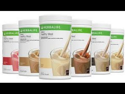 Herbalife Formula 1 review  Herbalife weight loss shake review  What is in it and how does it work?