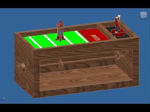 Pltw Inventor Cam Toy Designs Youtube