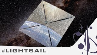 Sailing the stars with light #LightSail - Orbit 11.41