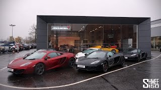 My Old 12C and Supercar Test Drives -