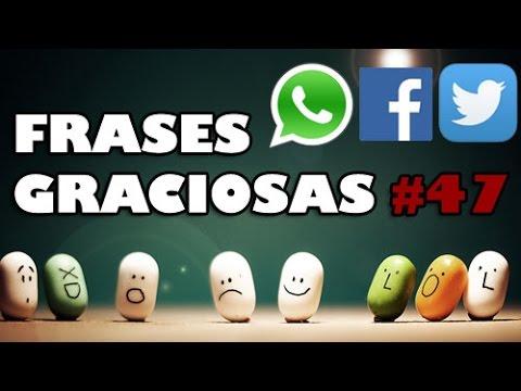 Frases cortas graciosas para poner en Whatsapp - Facebook - Twitter #47