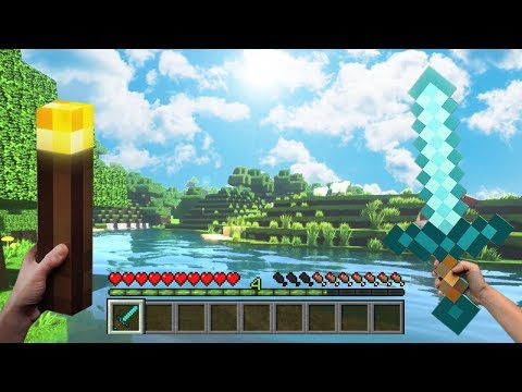 (2019) Realistic MINECRAFT - Top 5 Texture Packs