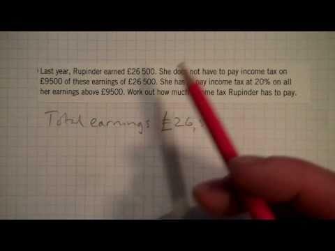 Income Tax Question