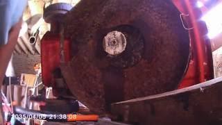 démontage moteur de tondeuse , partie 2 .