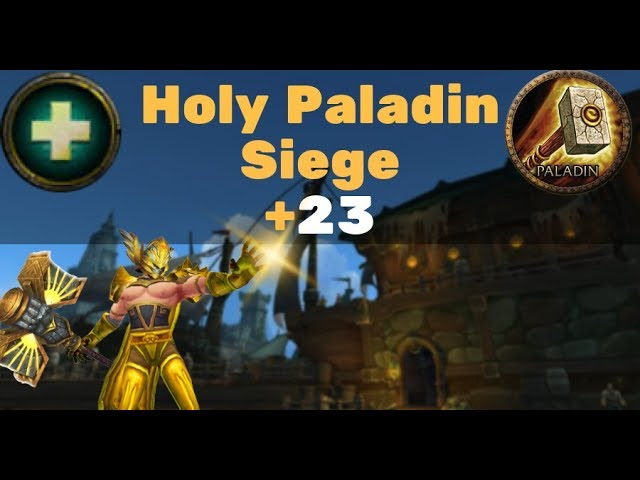 Siege of Boralus +23 - Holy Paladin (Zmok) PoV Download video - get
