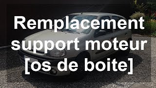 Remplacer le support moteur : os de boite sur une Renault Clio 2