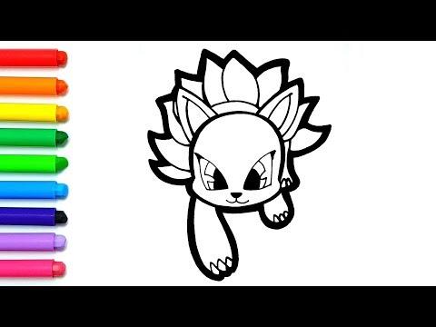 How To Draw A Cute Character 신비아파트 구미호 그리기 및