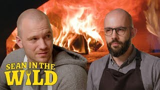 Download Binging with Babish and Sean Evans Battle to Make the Perfect Filled Calzone | Sean in the Wild Mp3 and Videos
