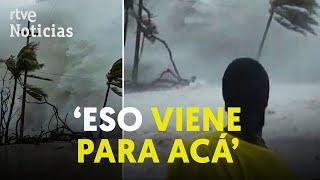 El huracán 'IOTA' toca NICARAGUA con vientos superiores a los 250 km/h | RTVE Noticias