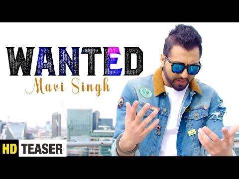 Wanted ( Teaser ) Mavi Singh | Latest Punjabi Songs 2018 | Yaariyan Records