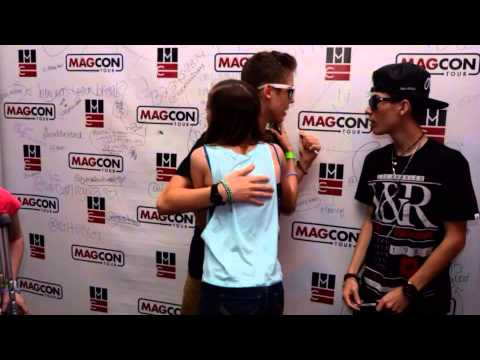 Meeting the magcon boys 41214 youtube m4hsunfo