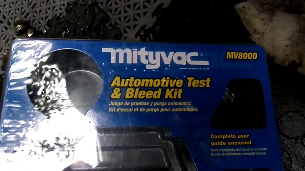 Mity-Vac Vacuum Pump /& Brake Bleeder Kit MV8000